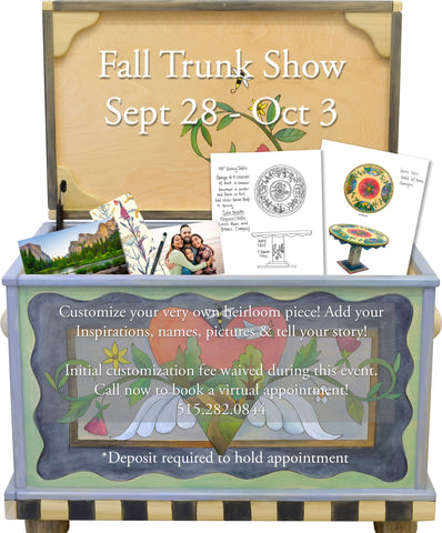 Save the Date: Sticks Gallery Fall Trunk Show Sept 29-Oct 3