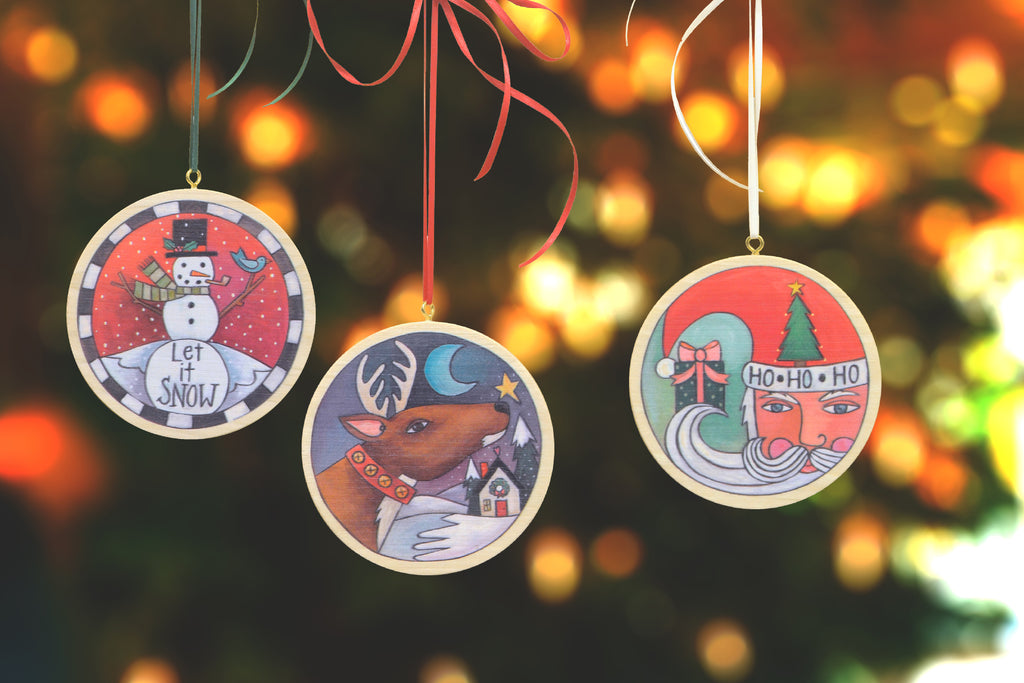 Sweet NEW Sincerely, Sticks Holiday Ornaments Are Here