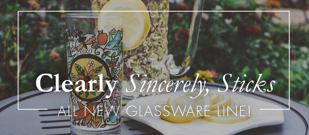 🍻Brand NEW - Clearly Sincerely, Sticks Glassware is Now Available!!🍻