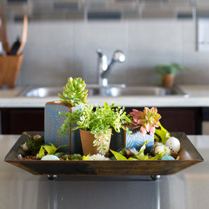 Small Tray – A sweet little accent tray to hold a grouping of decorations or in the kitchen to hold miscellaneous like salt, pepper, and napkins displayed in a kitchen