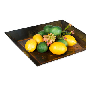 Small Tray – A sweet little accent tray to hold a grouping of decorations or in the kitchen to hold miscellaneous like salt, pepper, and napkins displayed with fruit