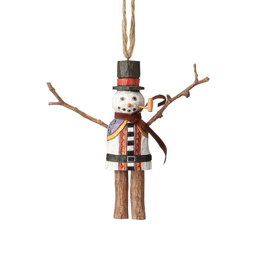 Bundled Up Snowman Ornament