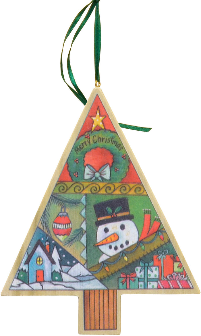 """Christmas Quilt"" Ornament"