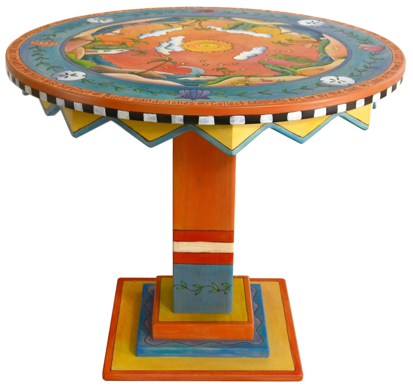 Picture of: 36 Round Dining Table D74072 Sticks Handmade