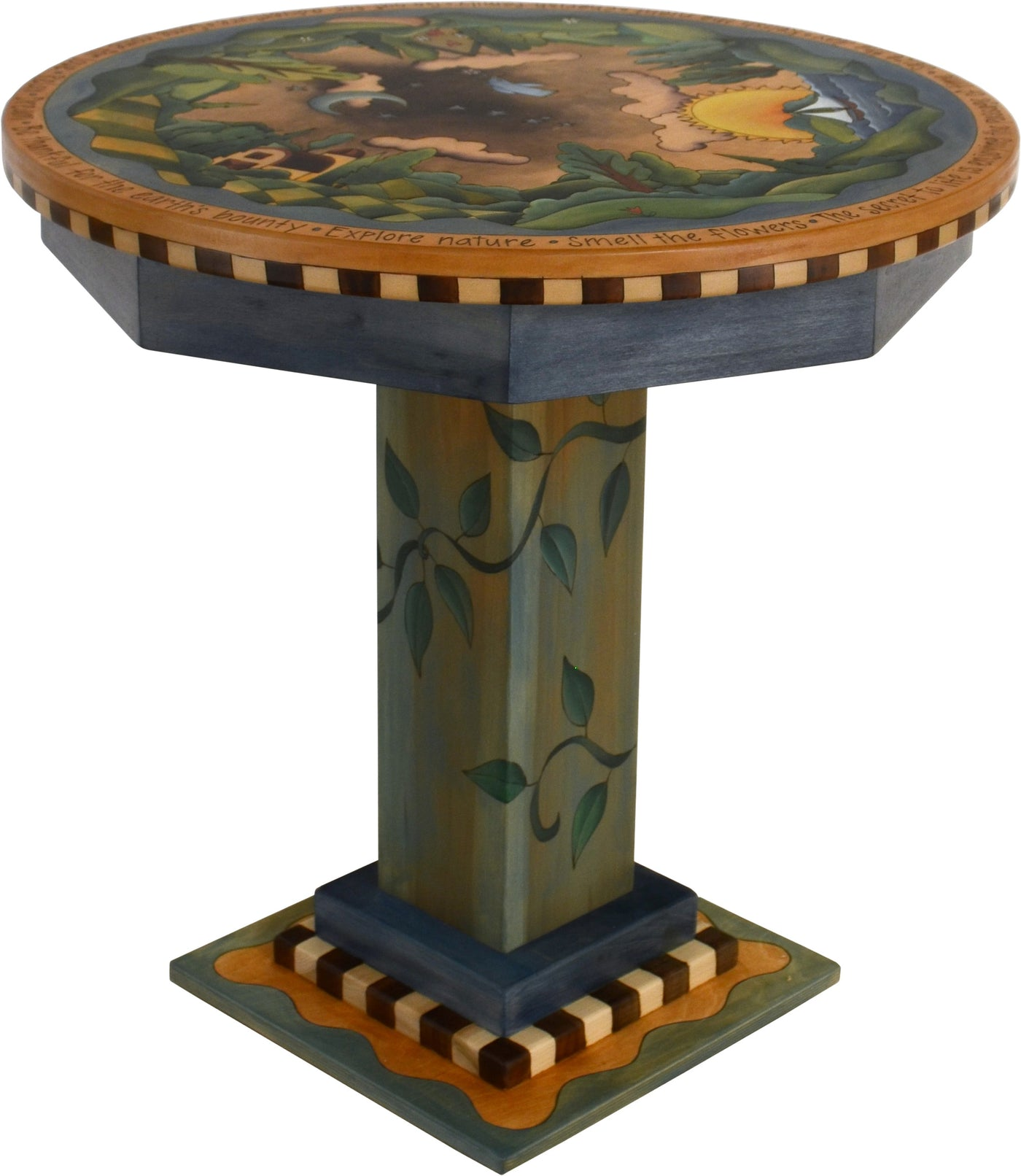 Picture of: 36 Round Dining Table D74177 Sticks Handmade