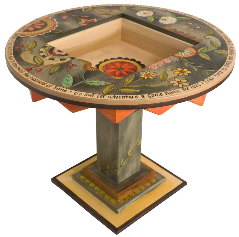 Flip-Top Game Table