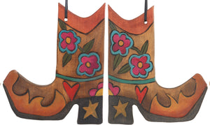 Boot Ornament –  Boot Ornament with floral motif