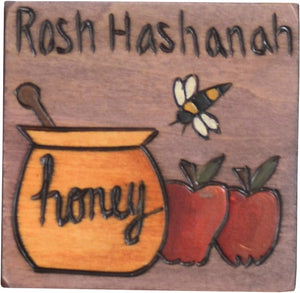 Large Perpetual Calendar Magnet –  New beginnings await in the new year, mark it with a Rosh Hashanah magnet