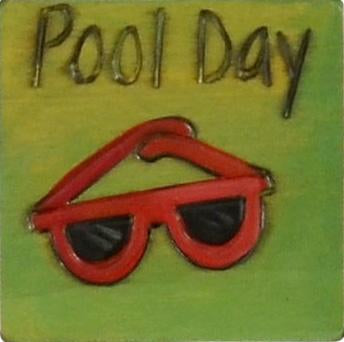 Large Perpetual Calendar Magnet –  Mark your calendar the day you plan to catch some rays poolside