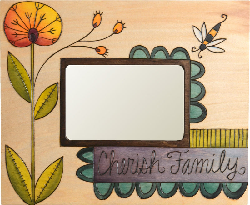 Sticks handmade picture frame