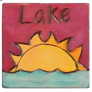 Large Perpetual Calendar Magnet –  Leave for some fun at the local lake today