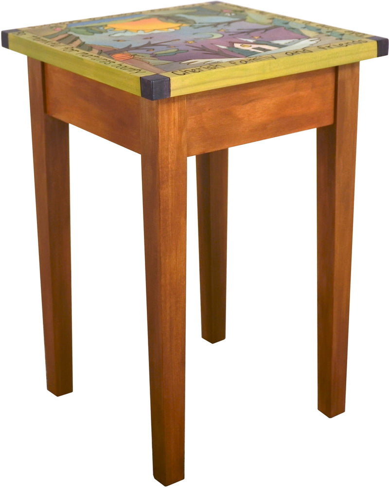 Small Square End Table