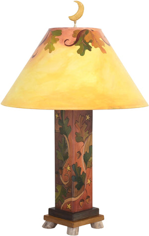 Box Table Lamp –  Elegant and bright table lamp with vine motifs