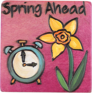 Large Perpetual Calendar Magnet –  This magnet reminds you to turn your clocks forward each March