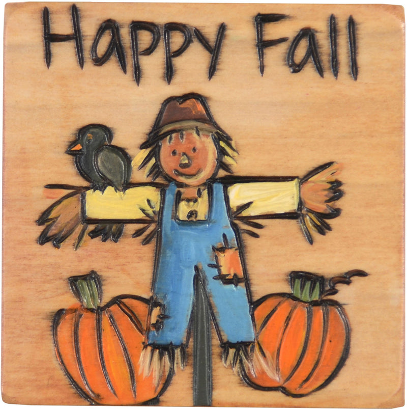Large Perpetual Calendar Magnet –  Our scarecrow will remind you of the first day of fall on your calendar