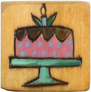 Small Perpetual Calendar Magnet –  Do you have a busy birthday month in your family? Let them all have cake magnets!