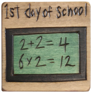Large Perpetual Calendar Magnet –  A new school year and new lessons await