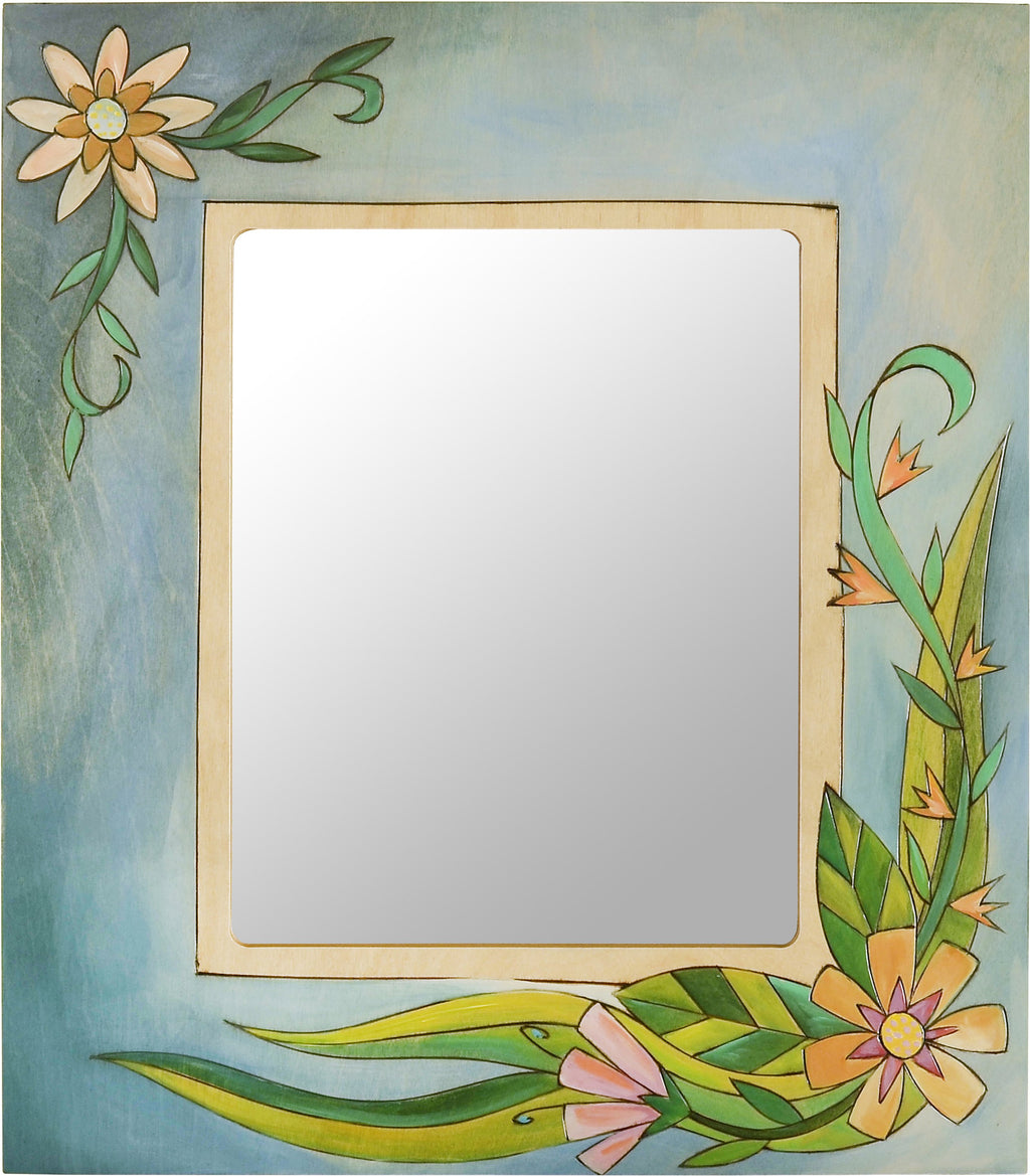 "8""x10"" Frame –  Elegant and flowing floral picture frame"