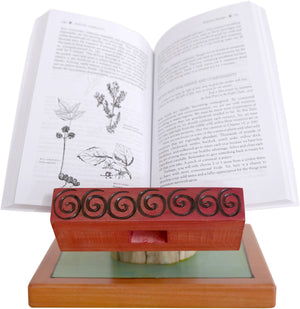 Cookbook and Tablet Stand –  Cookbook and Tablet Stand with sun and bee motif