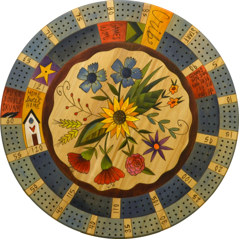 "24"" Cribbage Lazy Susan"