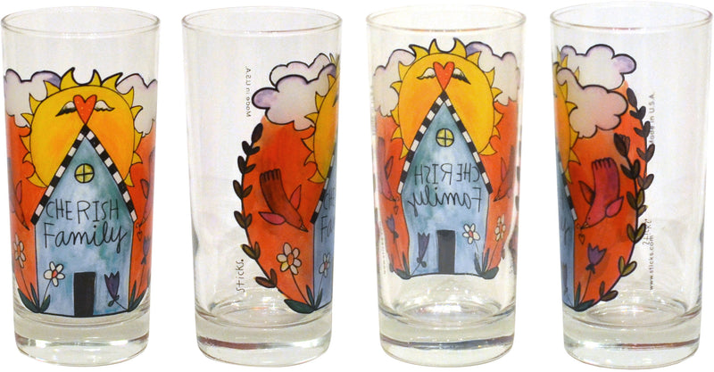 Cozy Home Drinking Glasses