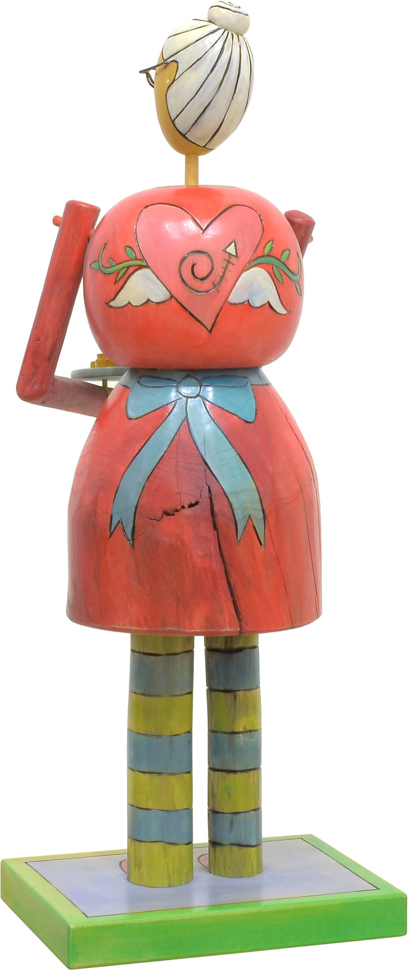 Mrs. Claus Sculpture