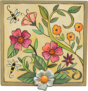 Keepsake Box – Beautiful blooming flowers in a delicate color palette