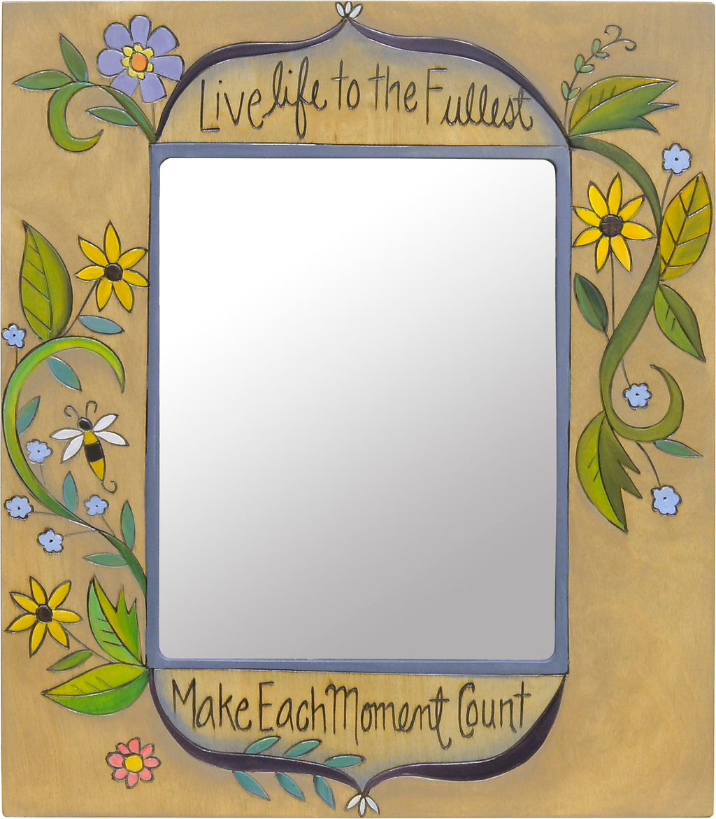 """Make each moment count"" frame to let your favorite life adventures shine"