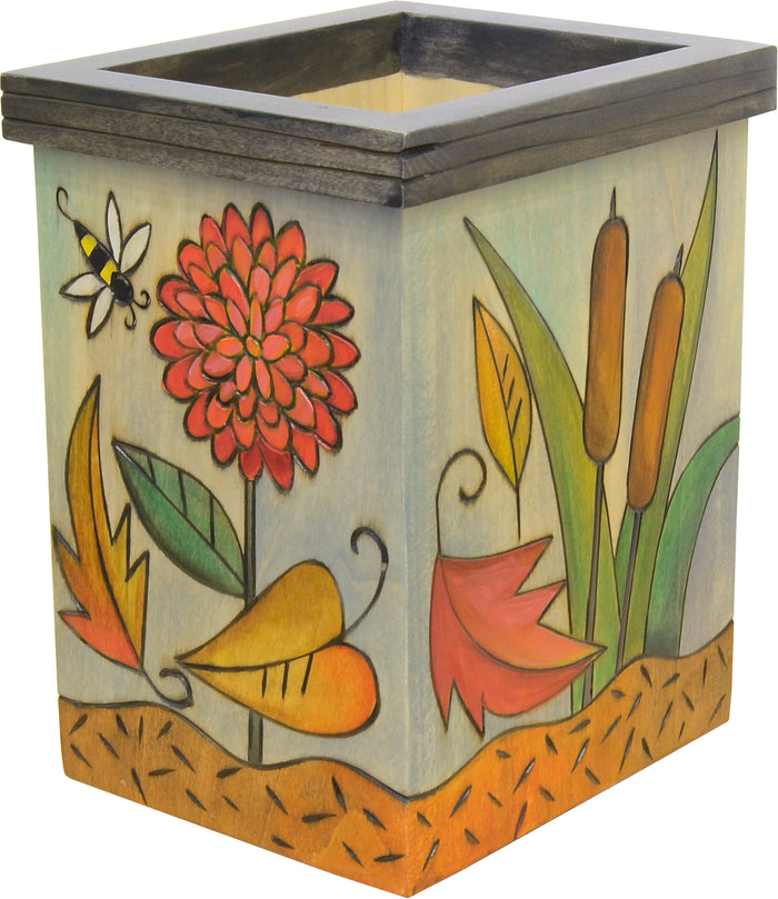 Vase/Utensil Box