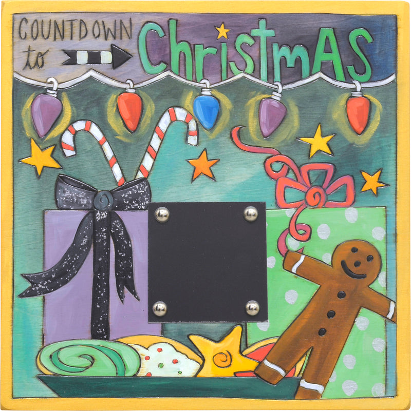Countdown the number of days until Santa arrives!