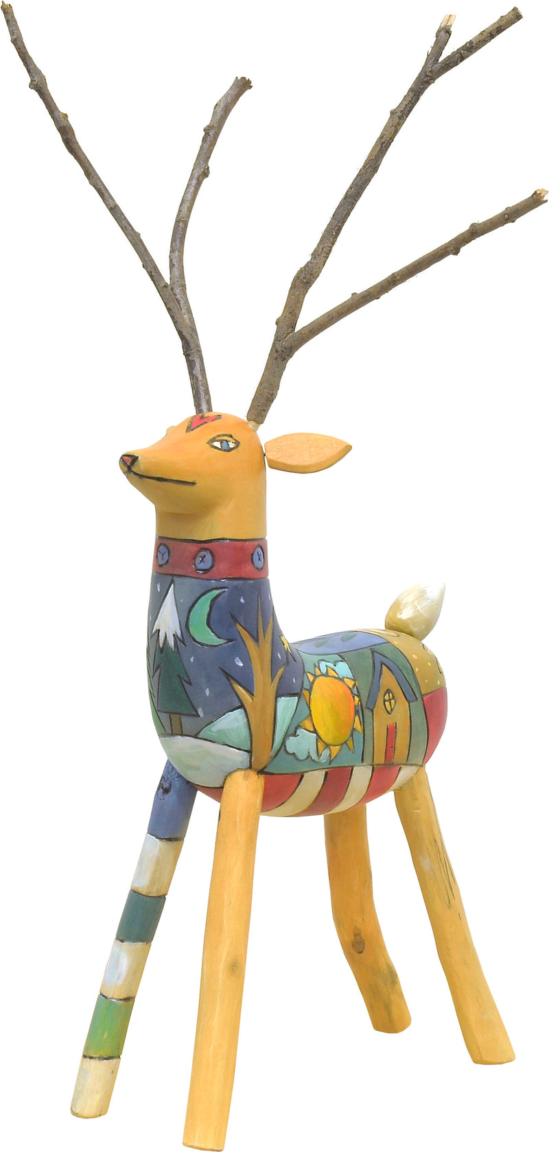 Reindeer Sculpture