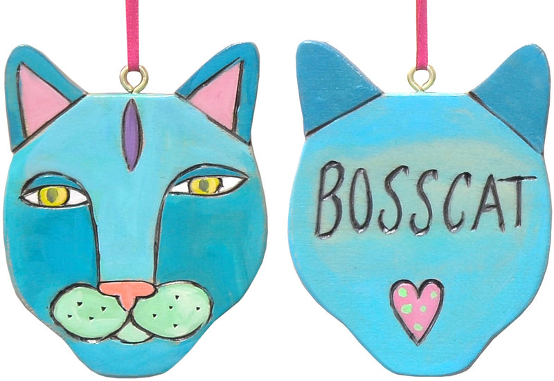 Love your cats like family? Get them their own Christmas ornaments!