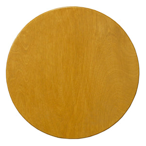 "20"" Lazy Susan –  A classic and plain golden oak lazy susan, this would look amazing on a vibrant Sticks table! main view"