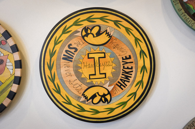 "University of Iowa 20"" Lazy Susan"