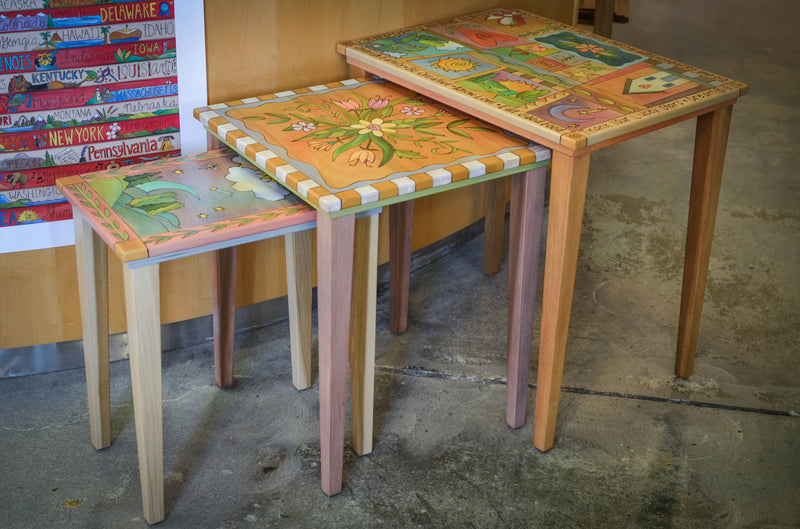 Nesting Table Set
