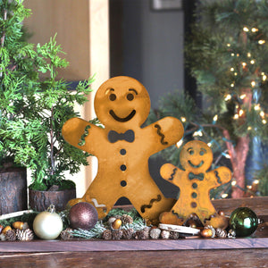 Gingerbread Man Sculpture – Add a gingerbread man to your holiday decor lineup for a playful touch main view