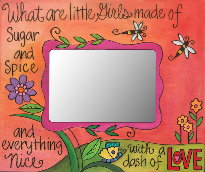 """Girly Girl"" Picture Frame"