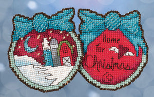 Home for Christmas Stitch Kit Ornament