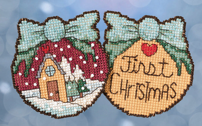 First Christmas Stitch Kit Ornament
