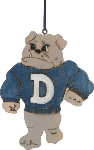 Drake University Ornament –  Drake Bulldog ornament