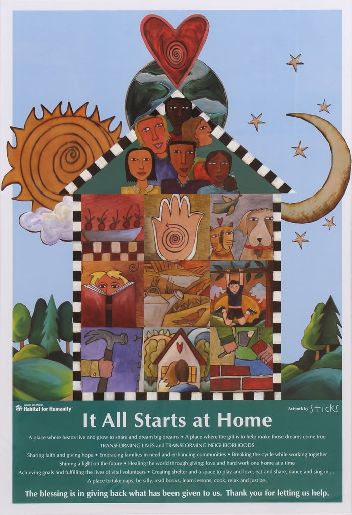 Habitat for Humanity Poster