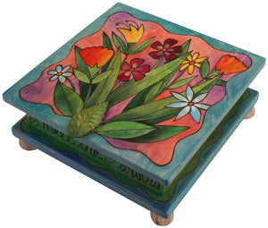 Keepsake Box – Beautiful bouquet of flowers fresh from a field