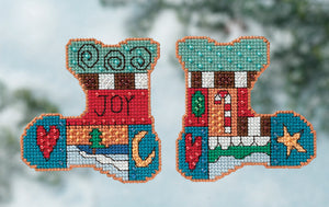 Joy Stitch Kit Ornament