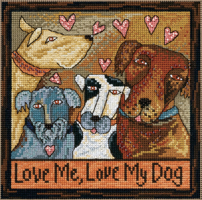 Love Me Love My Dog Stitch Kit