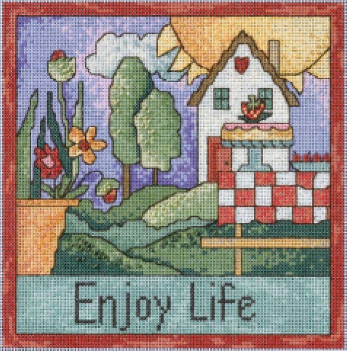 Enjoy Life Stitch Kit