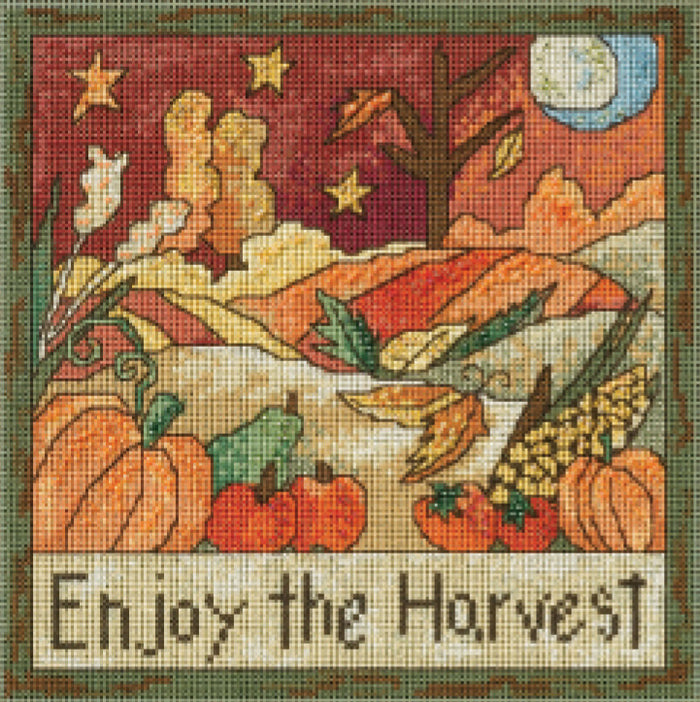 Enjoy the Harvest Stitch Kit