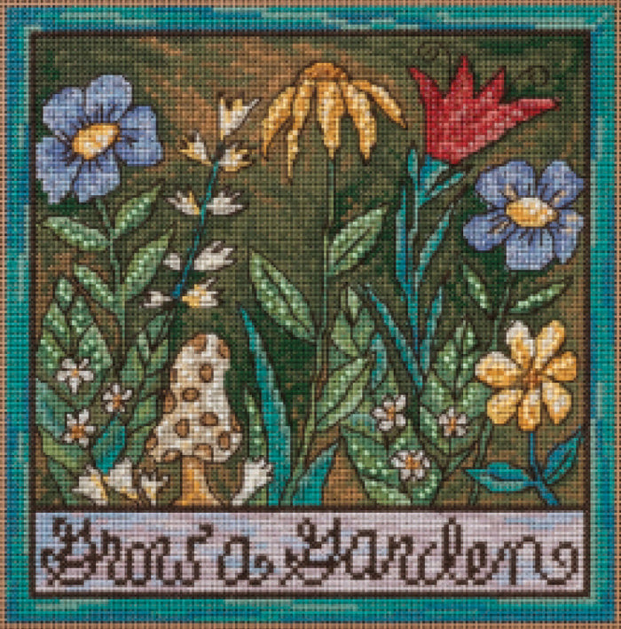 Grow a Garden Stitch Kit