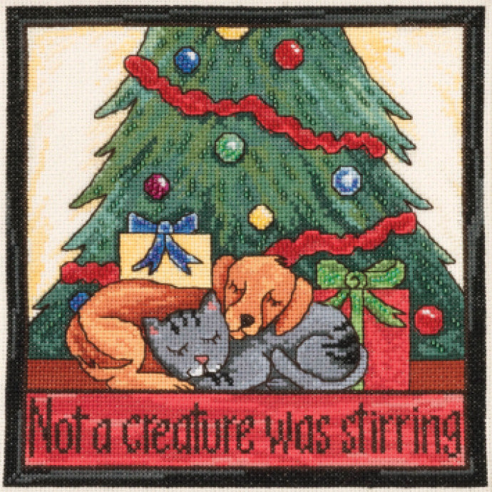 Not a Creature Was Stirring Stitch Kit