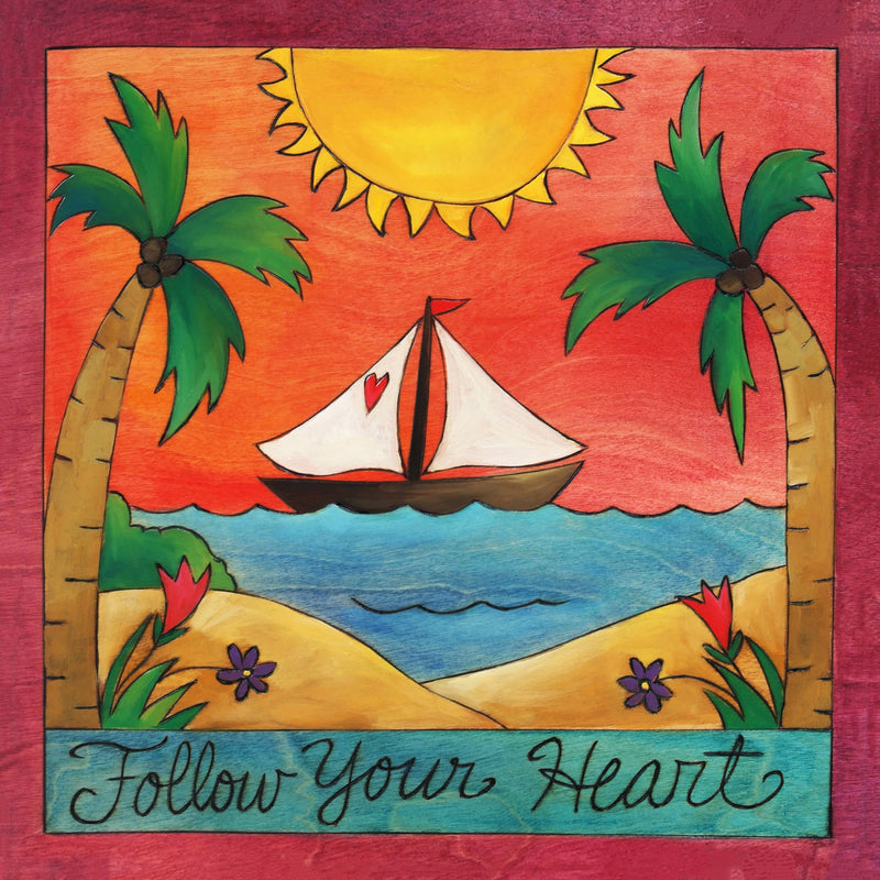 Wear Your Heart on Your Sail