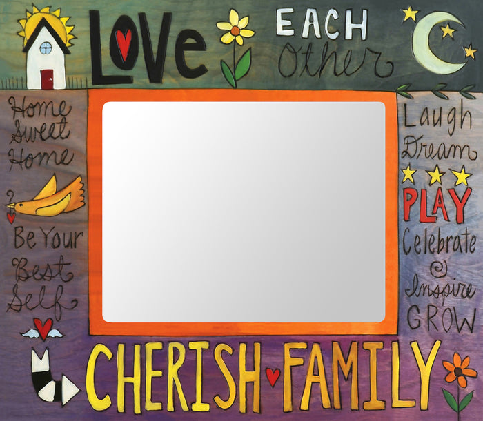 """What a Family Means"" Picture Frame"